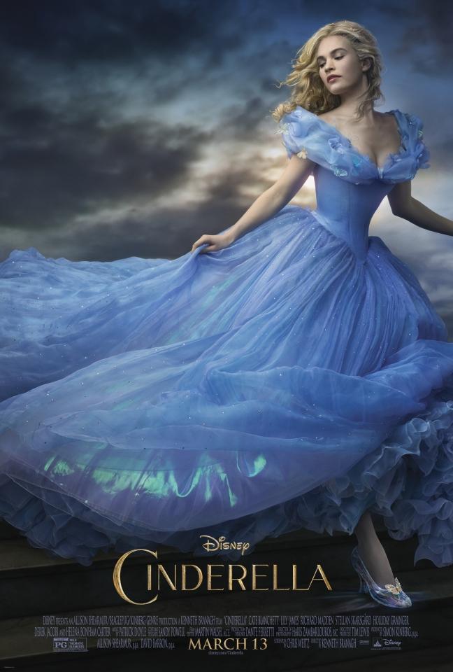 плакат фильма постер Золушка
