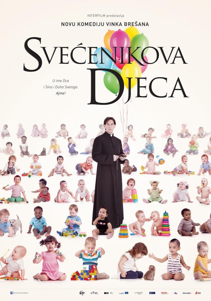 плакат фильма постер Дети священника
