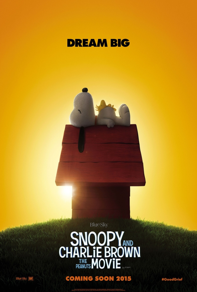 плакат фильма постер Снупи и мелочь пузатая в кино