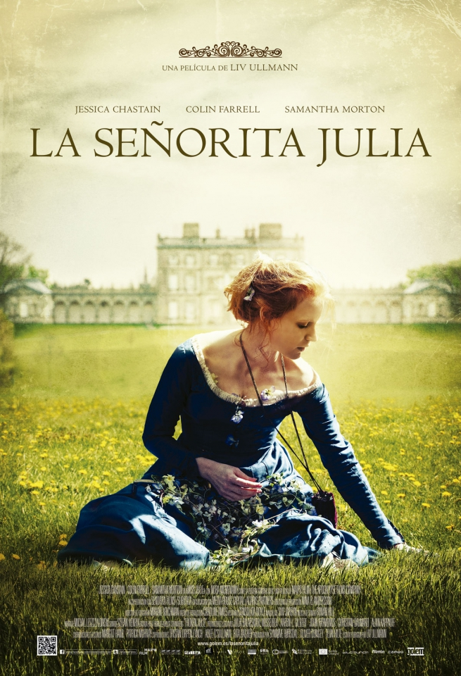 плакат фильма постер Мисс Джули*