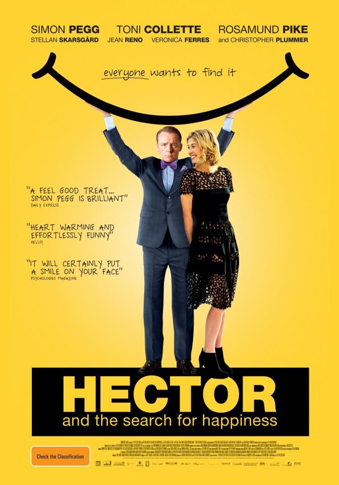 плакат фильма постер Путешествие Гектора в поисках счастья