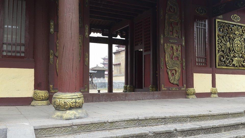 со съемок Тайна Печати дракона: Путешествие в Китай
