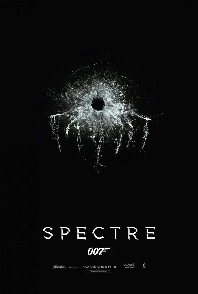 плакат фильма тизер 007: СПЕКТР