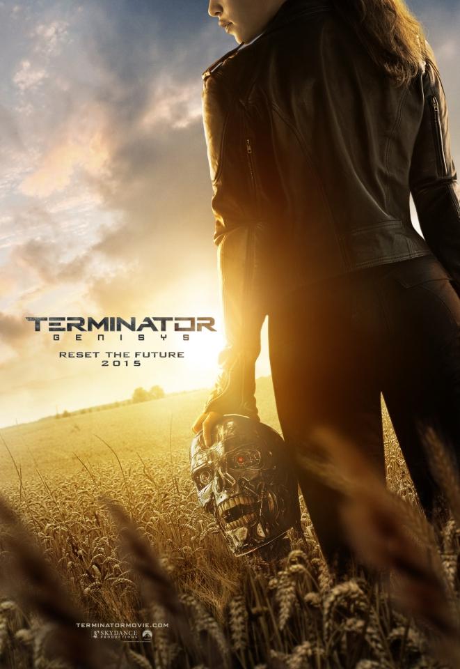 плакат фильма постер Терминатор: Генезис