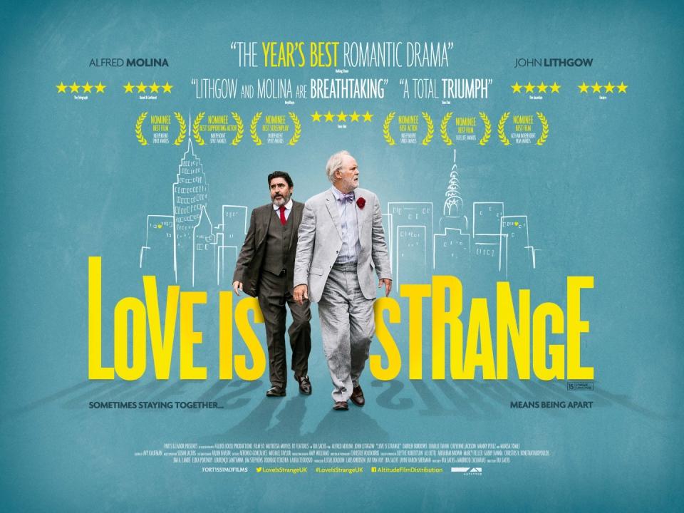 плакат фильма биллборды Любовь – странная штука*