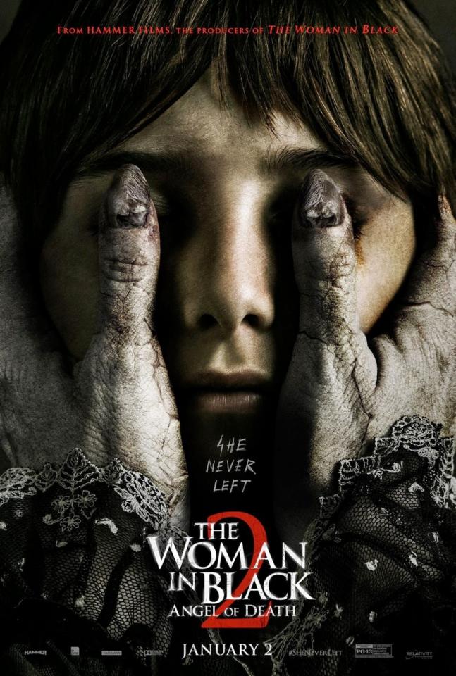 плакат фильма постер Женщина в черном: Ангелы смерти