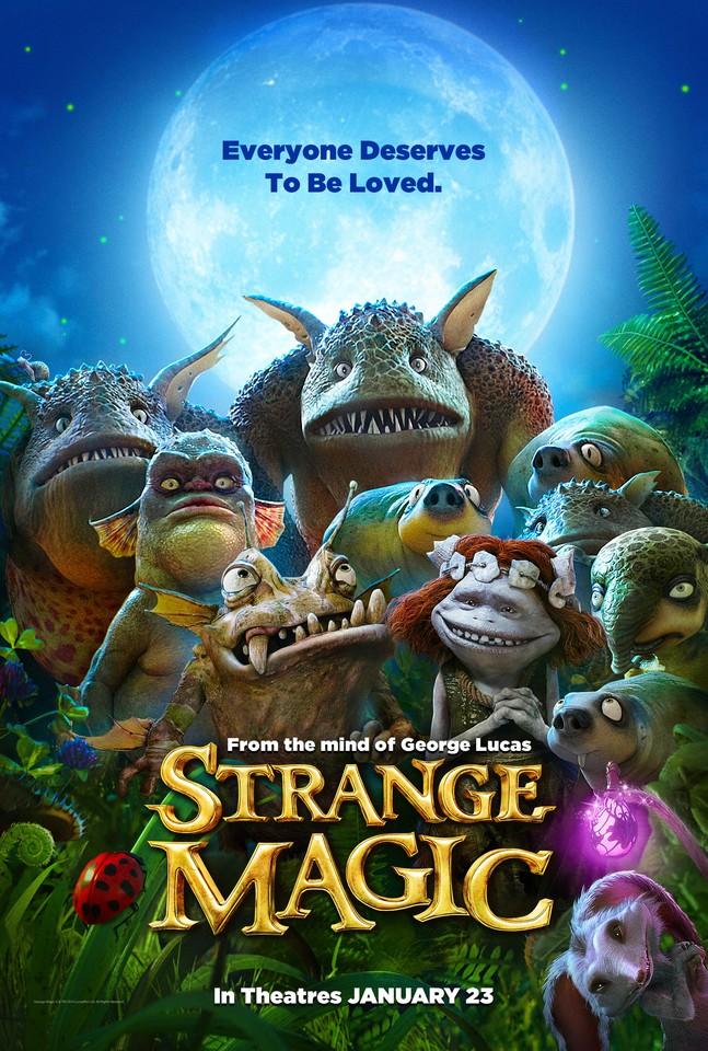 плакат фильма постер Странная магия*