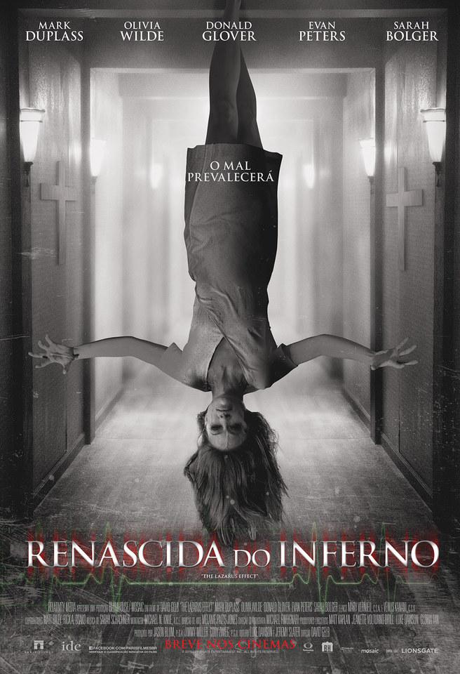 плакат фильма постер Эффект Лазаря