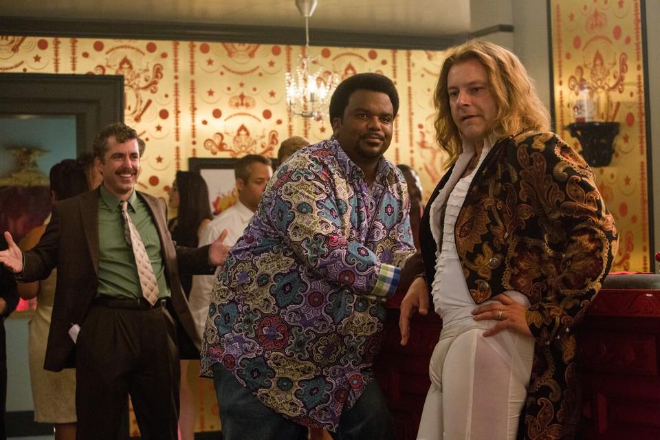 кадры из фильма Машина времени в джакузи 2 Джейсон Джонс, Крэйг Робинсон, Роб Корддри,