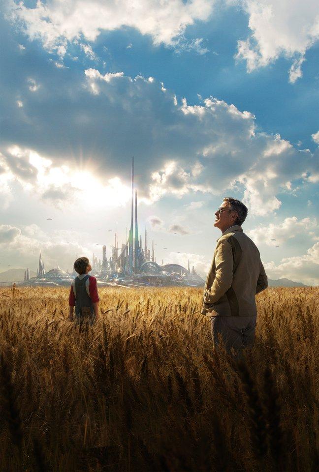 плакат фильма постер textless Земля будущего