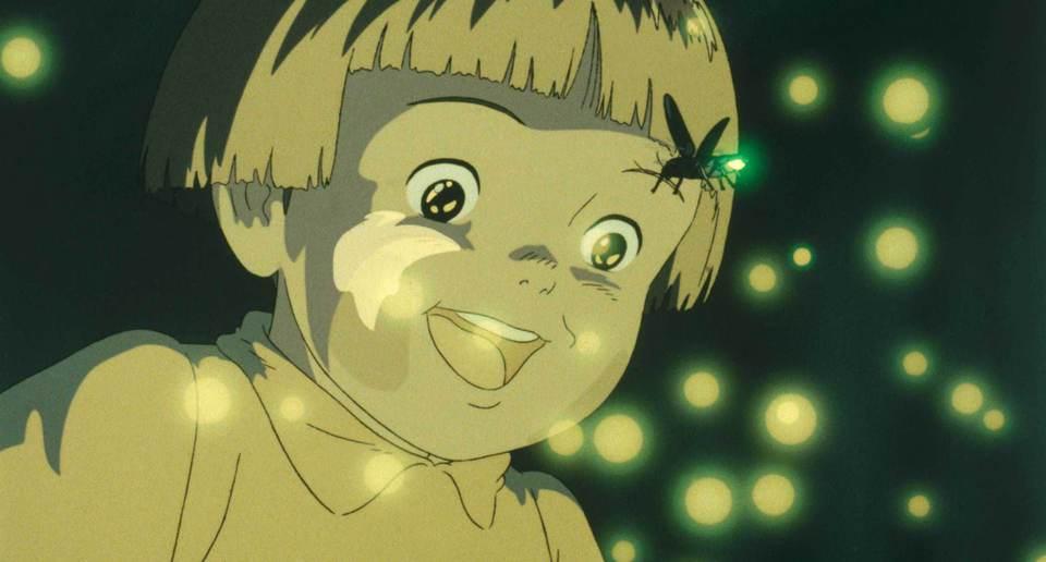 кадры из фильма Могила светлячков