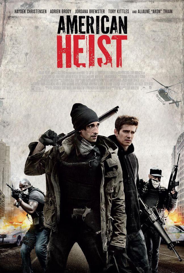 плакат фильма постер Ограбление по-американски