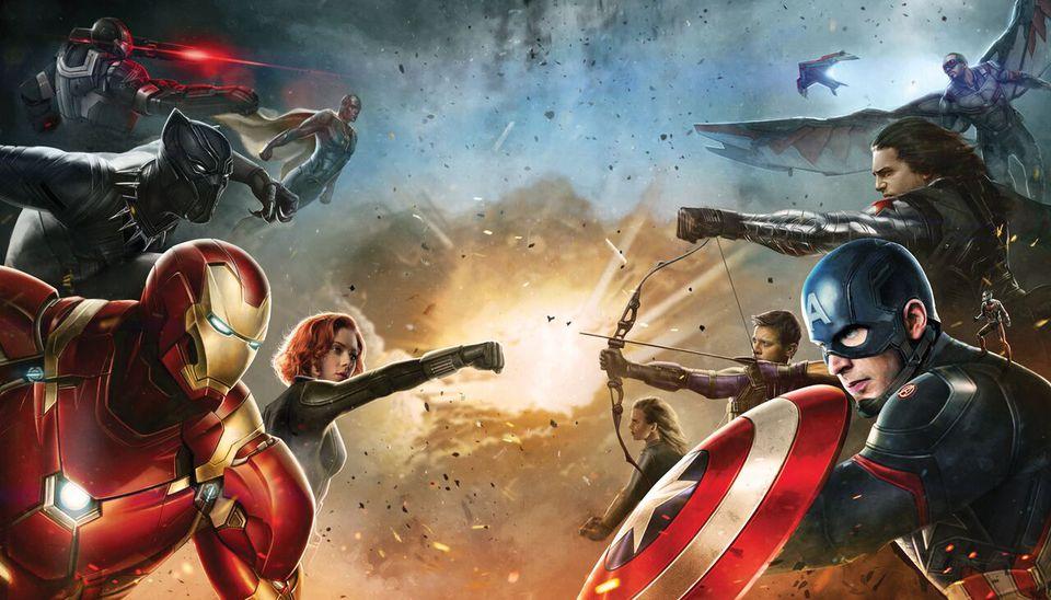 концепт-арты Первый Мститель: Противостояние