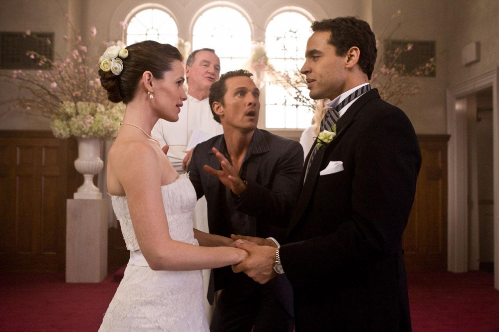 кадры из фильма Призраки бывших подружек Дэниел Санджата, Дженнифер Гарнер, Мэтью Макконахи,