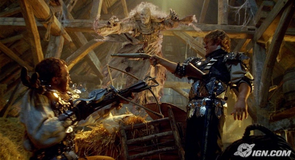 кадры из фильма Братья Гримм