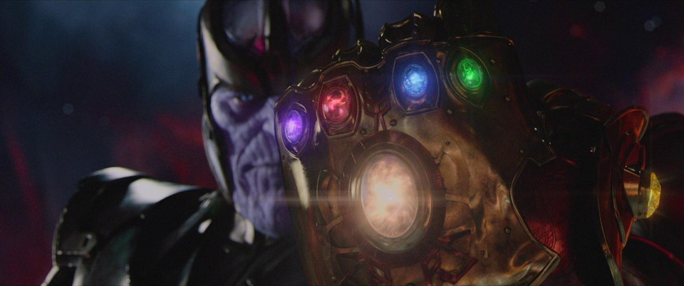 промо-слайды Мстители: Война бесконечности