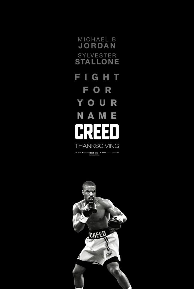 плакат фильма постер Крид: Наследие Рокки