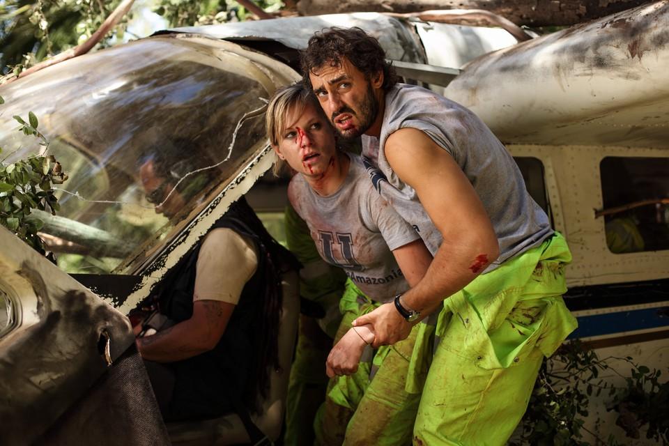 кадры из фильма Зеленый ад