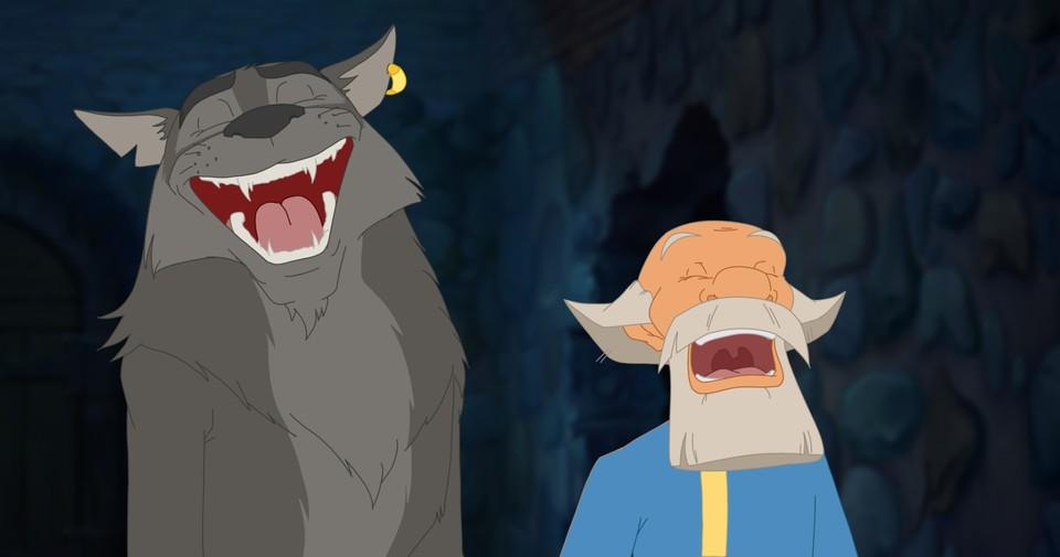 кадры из фильма Иван Царевич и Серый Волк 3