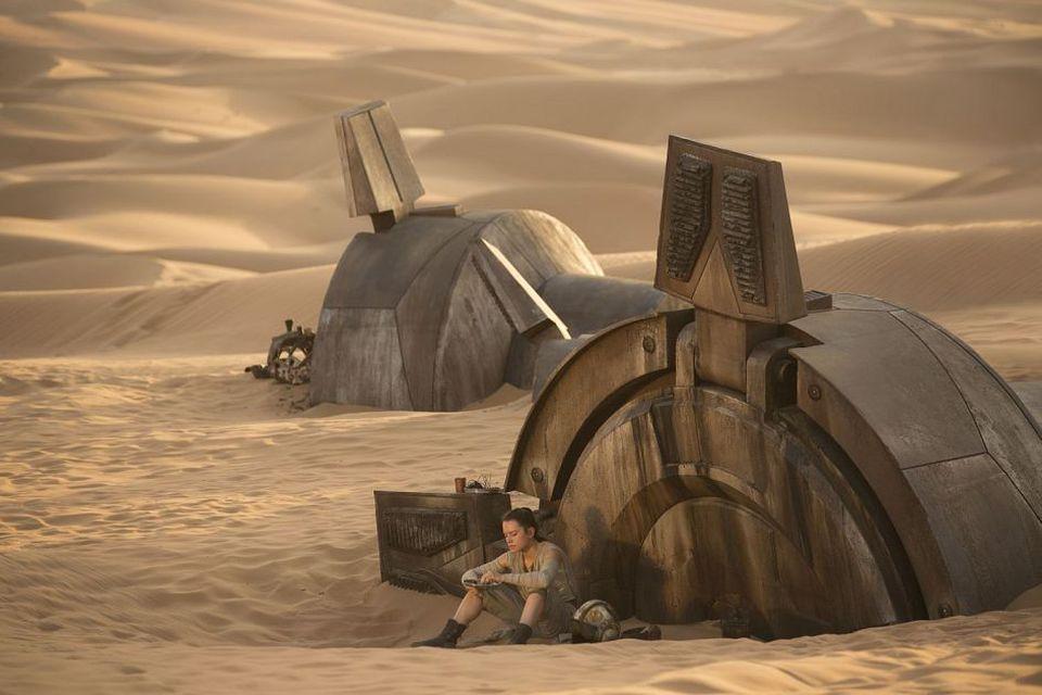 кадры из фильма Звездные Войны: Пробуждение Силы Дэйзи Ридли,