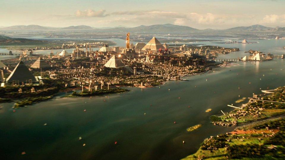 кадры из фильма Боги Египта