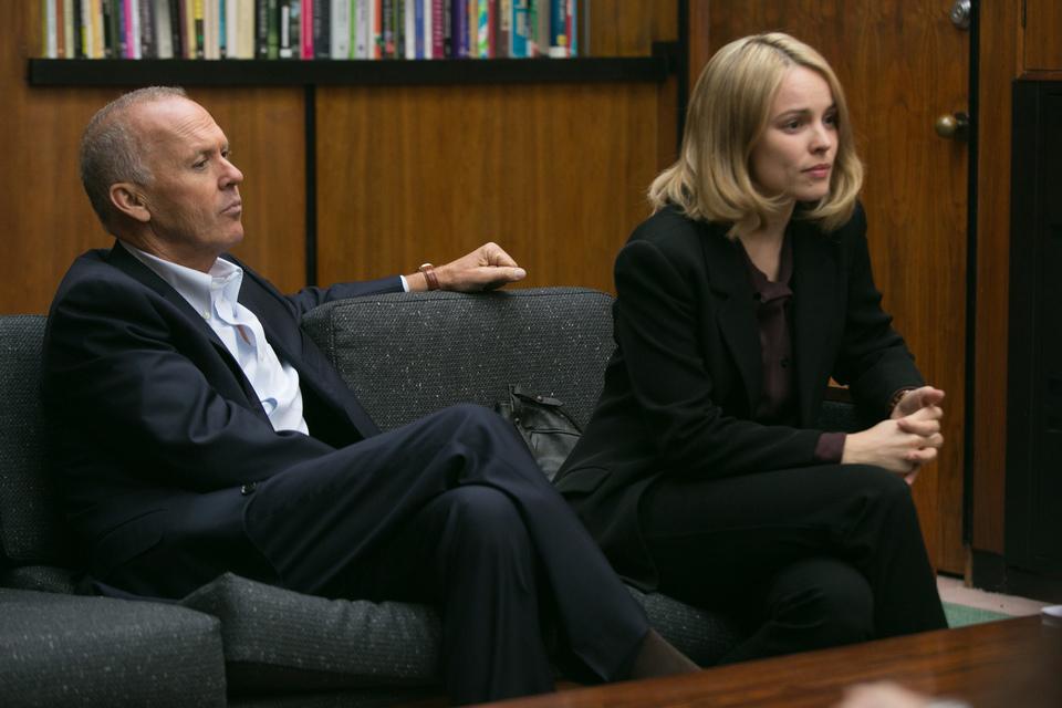 кадры из фильма В центре внимания Майкл Китон, Рэйчел МакАдамс,