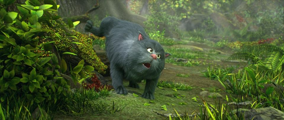 кадры из фильма Король обезьян 3D