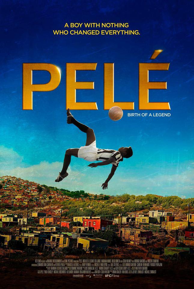 плакат фильма постер Пеле: Рождение легенды