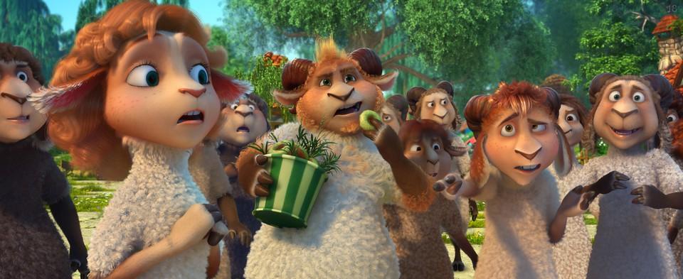 кадры из фильма Волки и овцы: бе-е-е-зумное превращение
