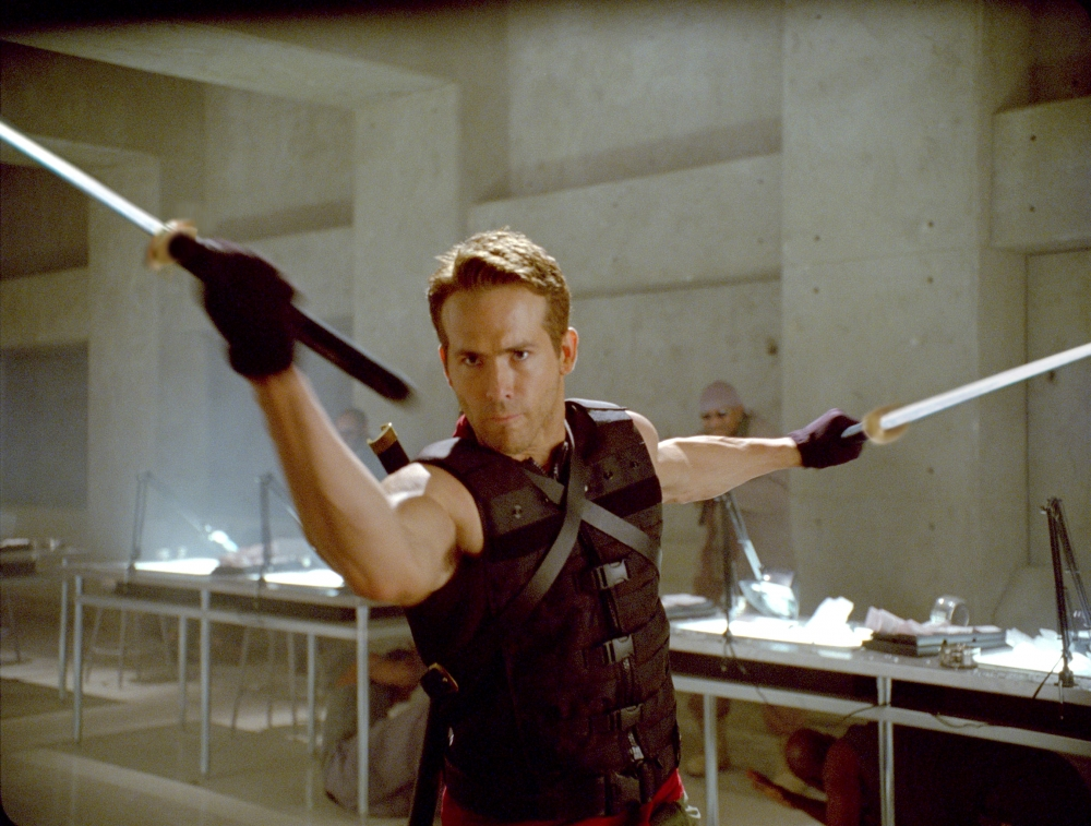 кадры из фильма Люди Икс: Начало. Росомаха Райан Рейнольдс,