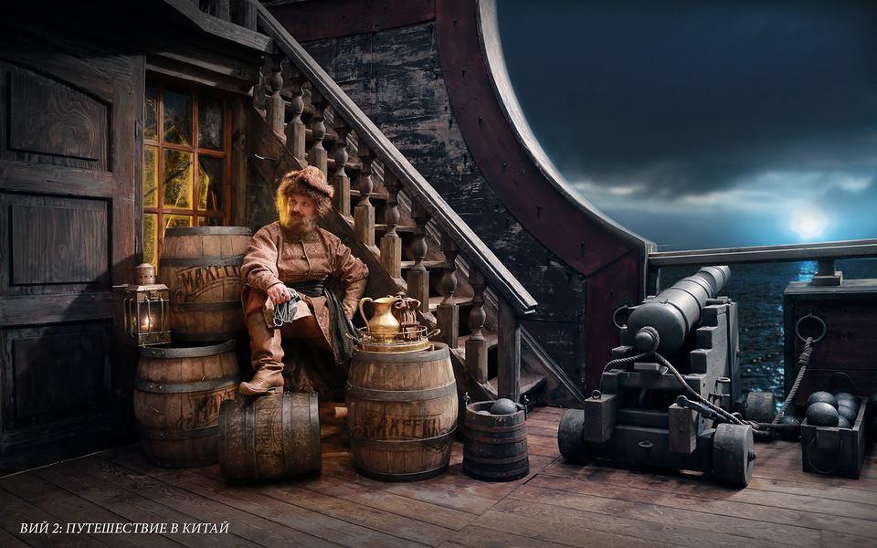 кадры из фильма Вий 2: Тайна Печати дракона