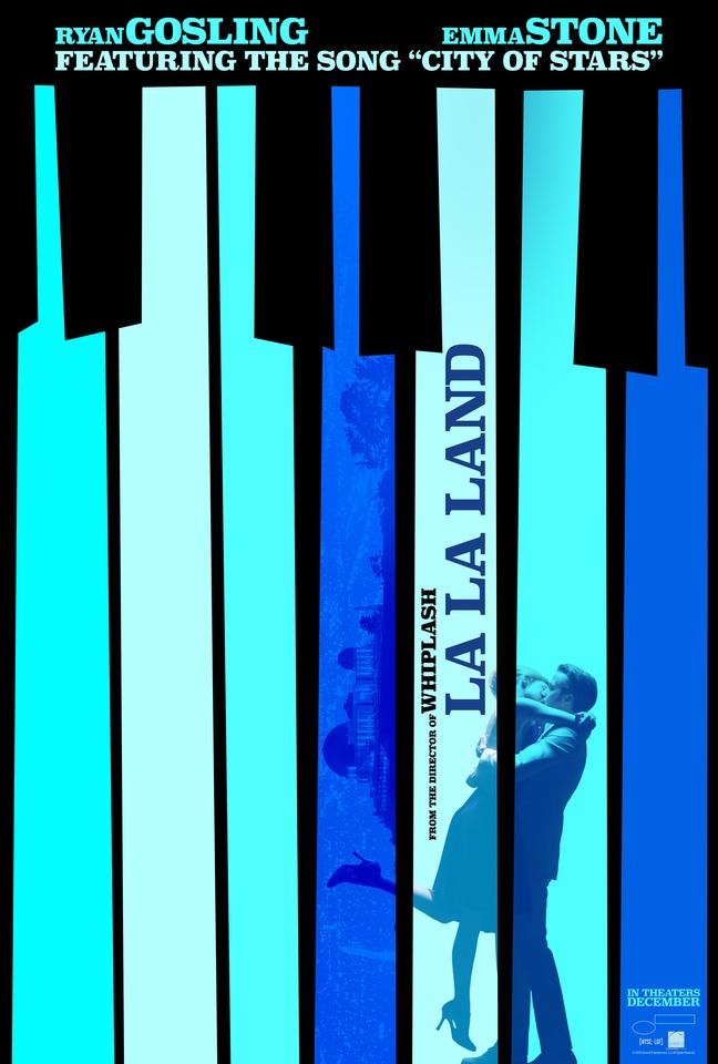 плакат фильма постер Ла-Ла Ленд