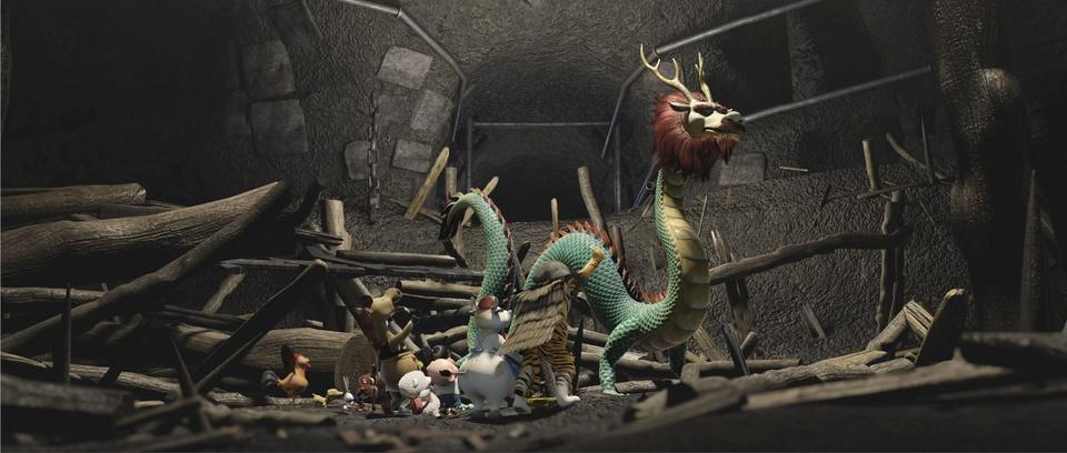 кадры из фильма Где дракон?