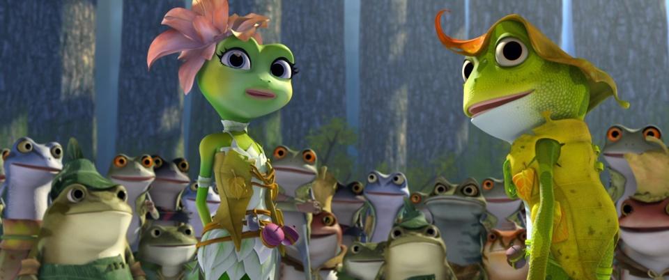 кадры из фильма Принцесса-лягушка