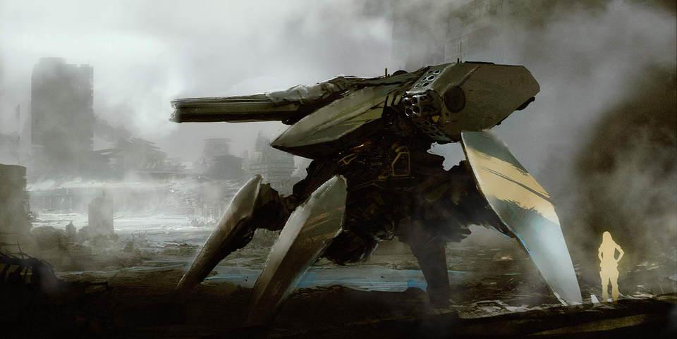 концепт-арты Роботы