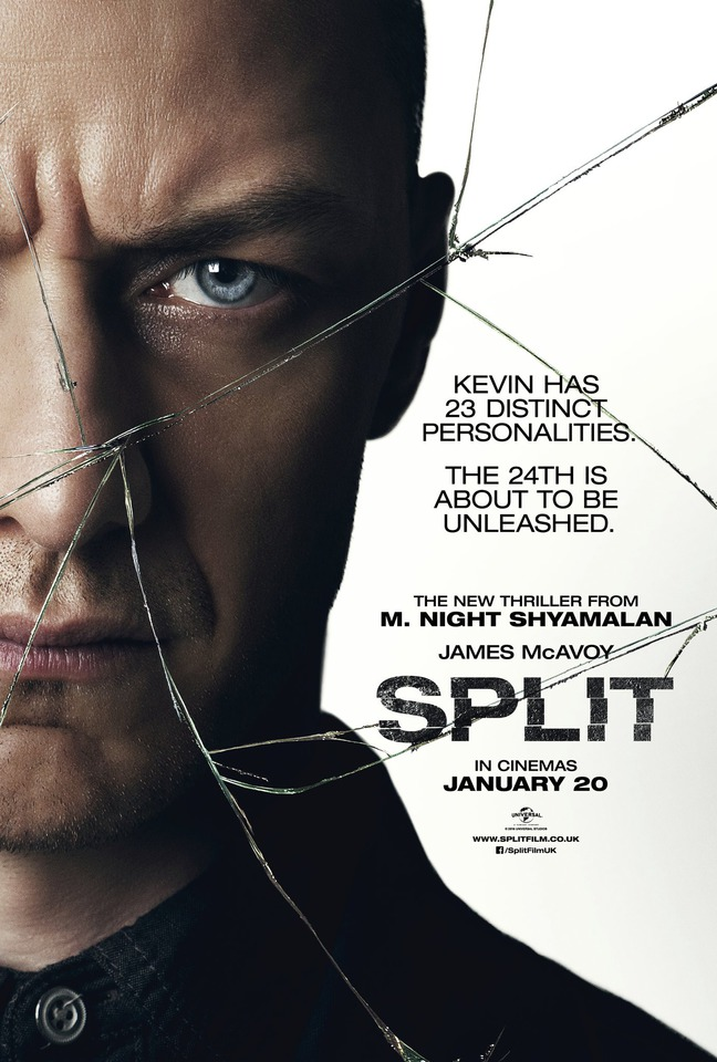 плакат фильма постер Сплит