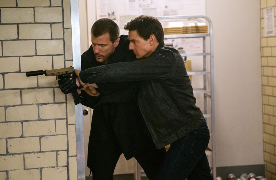 кадры из фильма Джек Ричер 2: Никогда не возвращайся Том Круз,