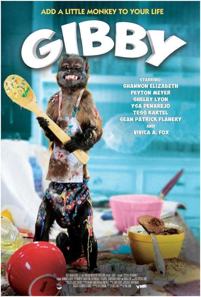 плакат фильма постер Гибби