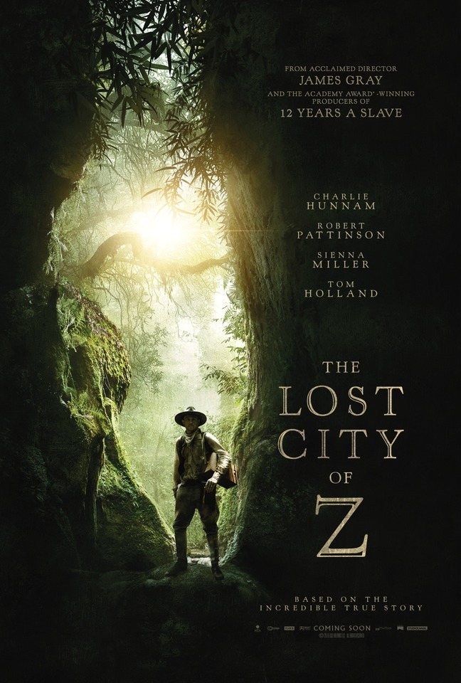 плакат фильма постер Затерянный город Z