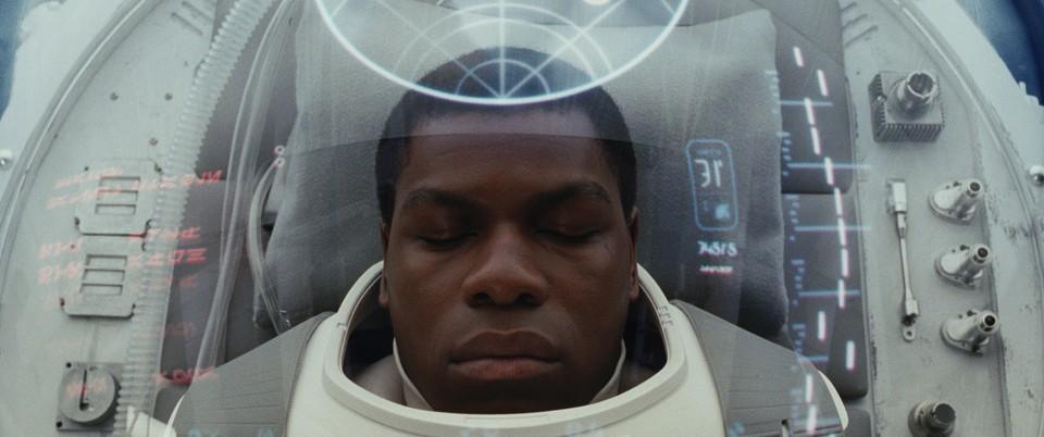 кадры из фильма Звёздные Войны: Последние джедаи Джон Бойега,