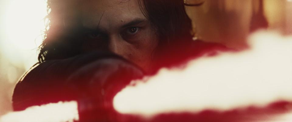 кадры из фильма Звёздные Войны: Последние джедаи Адам Драйвер,