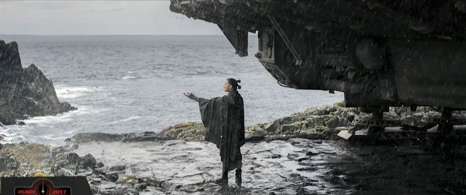 кадры из фильма Звёздные Войны: Последние джедаи Дэйзи Ридли,