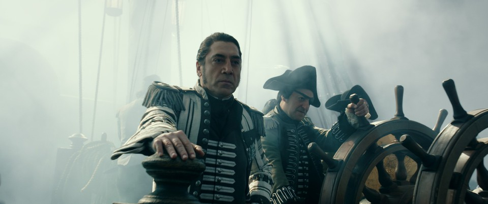 кадры из фильма Пираты Карибского моря: Мертвецы не рассказывают сказки Хавьер Бардем,