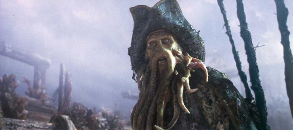кадры из фильма Пираты Карибского моря: Сундук мертвеца Билл Найи,
