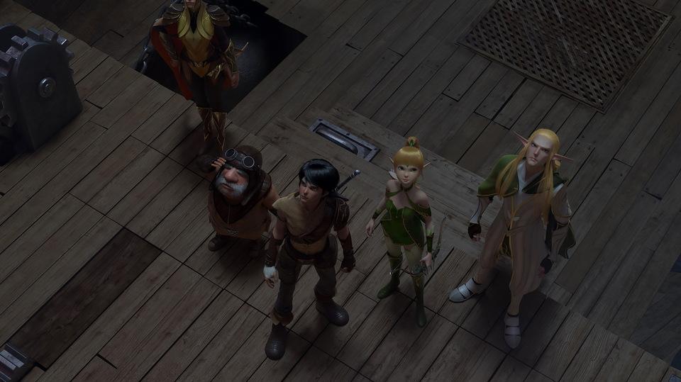 кадры из фильма Трон эльфов