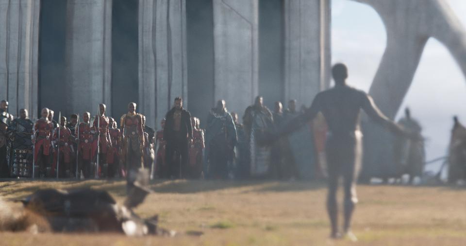 кадры из фильма Чёрная Пантера