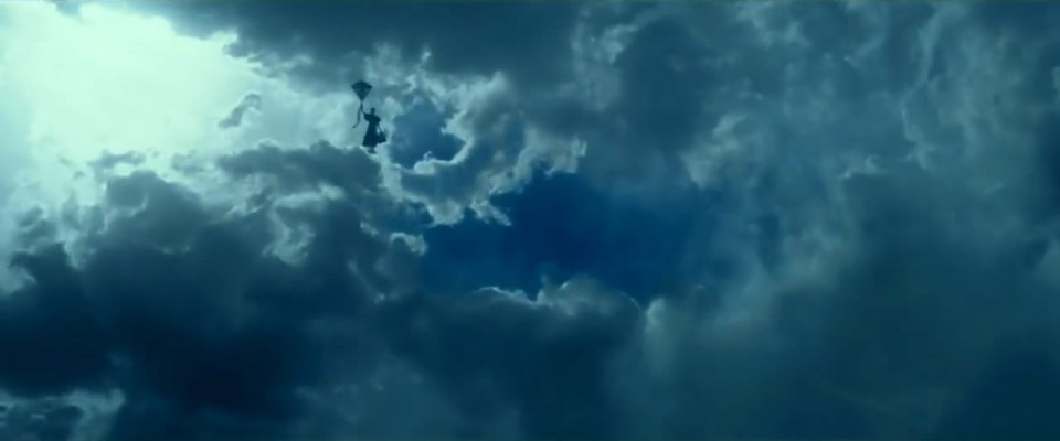 кадры из фильма Мэри Поппинс возвращается Эмили Блант,