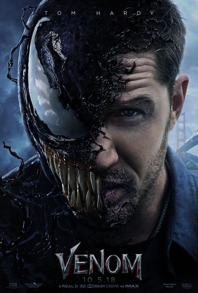 плакат фильма постер Веном