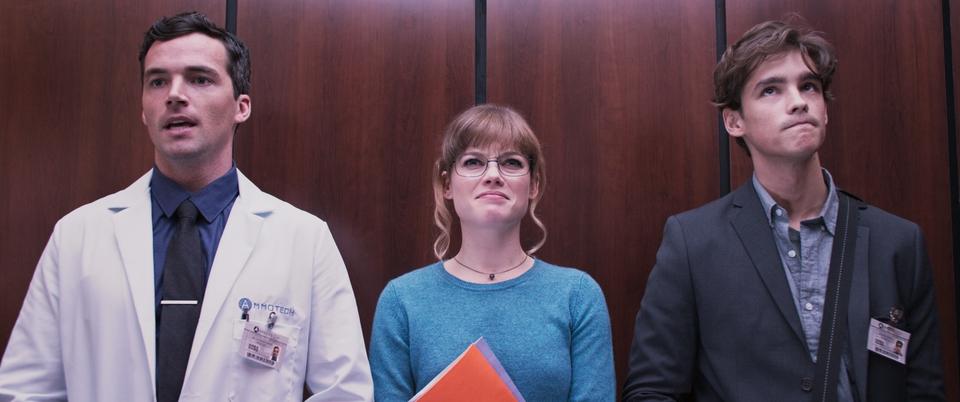 кадры из фильма Офисный беспредел
