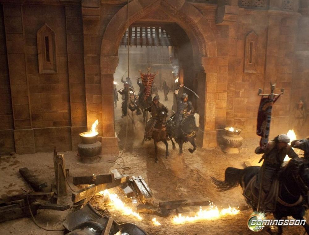 кадры из фильма Принц Персии: Пески времени